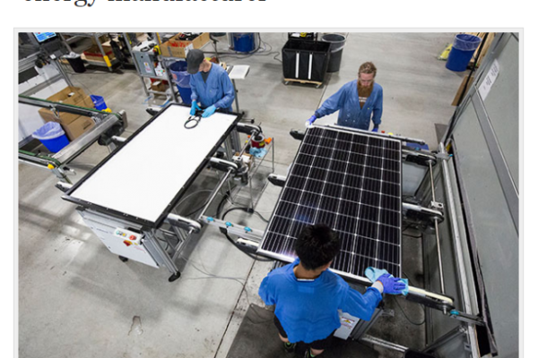 From Bellingham Business Journal: Sustainable growth wins out for green energy manufacturer